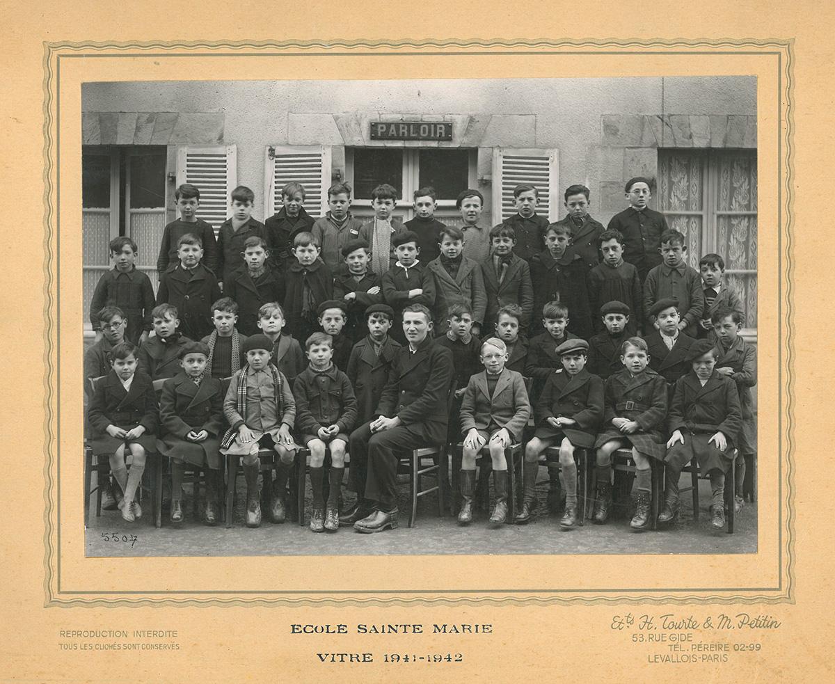 ecole-sainte-marie-1941-42