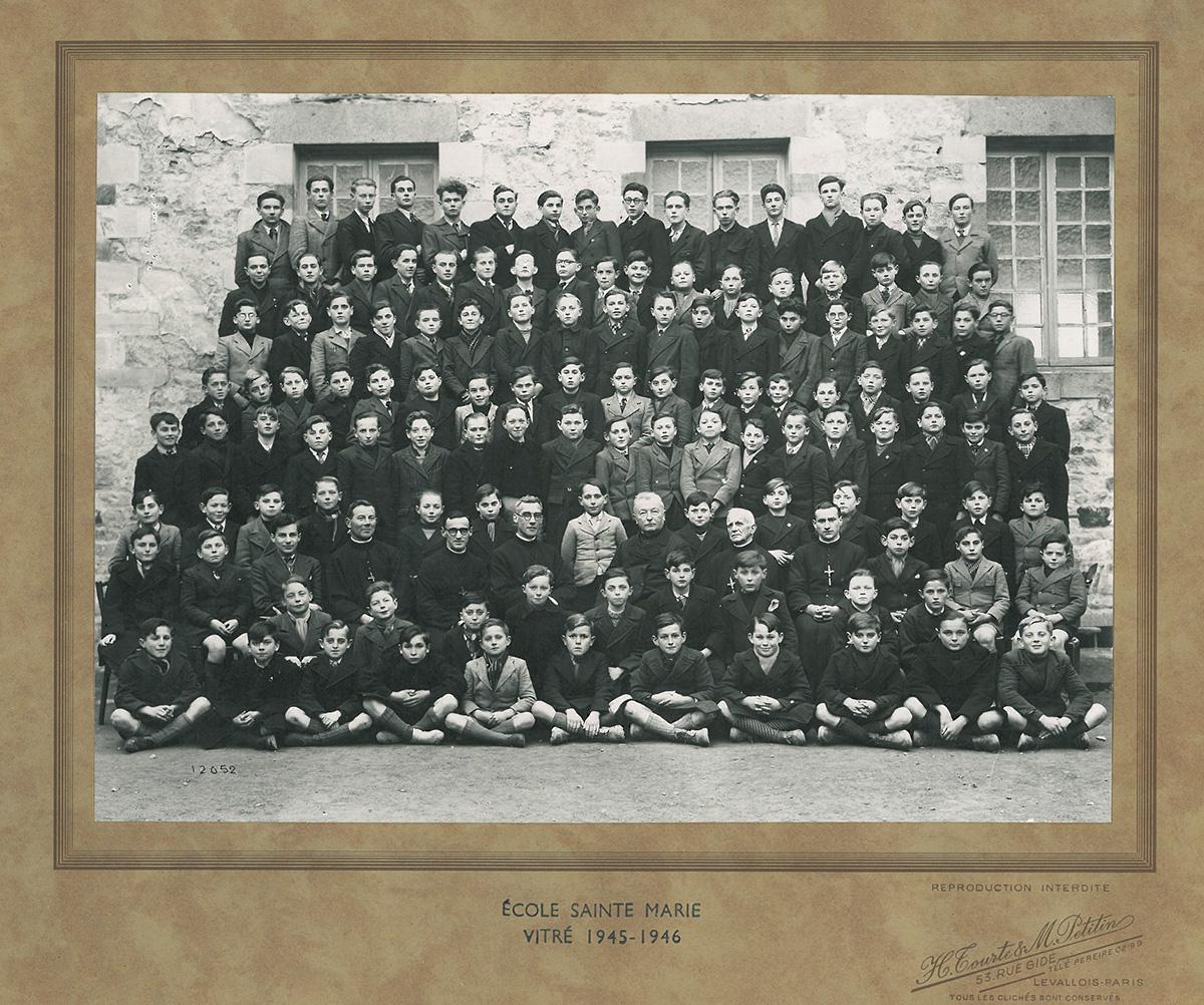 ecole-sainte-marie-1945-46