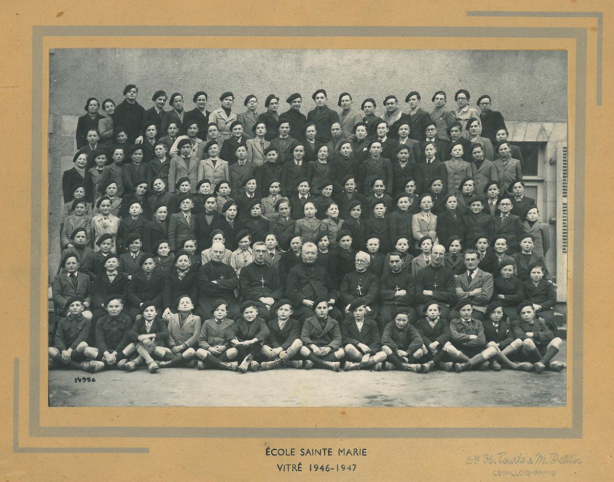 ecole-sainte-marie-1946-47