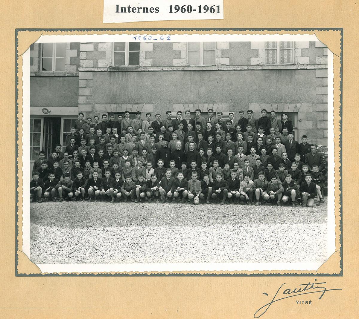 ecole-sainte-marie-1960-61